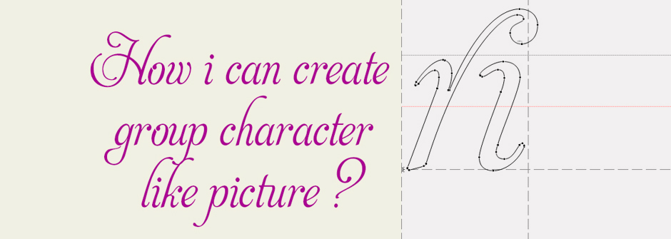 Diseña tu tipografía